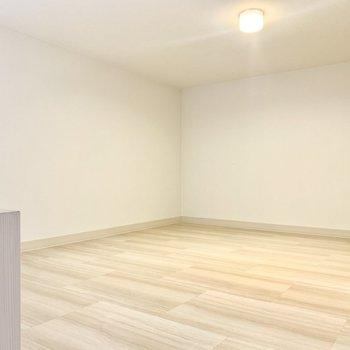 ゆったりなロフトは収納スペースとして◎(※写真は3階の同間取り別部屋のものです)