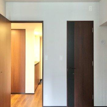 続いて水回りを見ていきましょう。※写真は6階の同間取り別部屋のものです