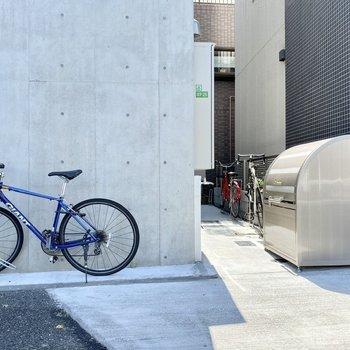 駐輪場(空き要確認)。