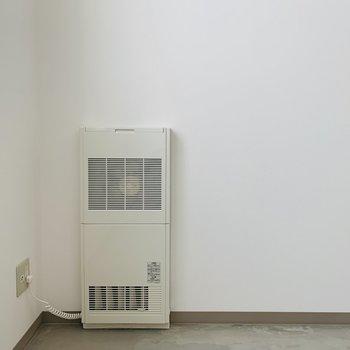 暖房設備も◎