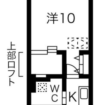 キッチンと寝室を分けられるのもGOOD。