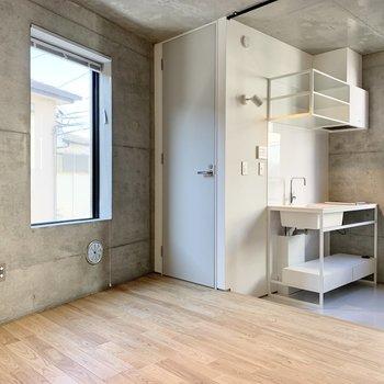 トイレはキッチン横です。