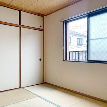角部屋で窓が多いのも、嬉しいポイント。