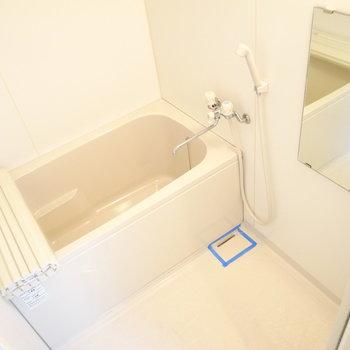 お風呂の広さは問題なさそうです。