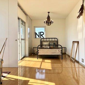 無駄のない間取りで、生活ゾーンがわけやすい。(※写真は3階同間取り別部屋、モデルルームのものです)