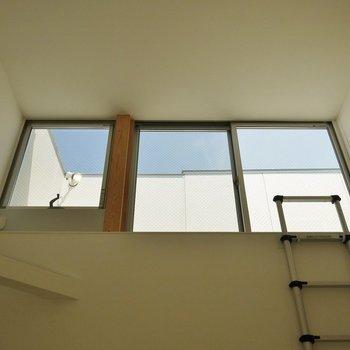 こんなところに屋上テラス!※写真は別室です。