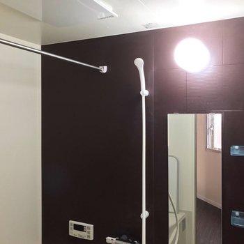 バルコニーがないので、浴室乾燥機が大活躍♩