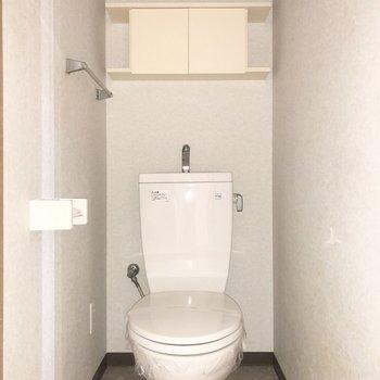 ※写真は2階の同間取り別部屋のもの・通電前の為、一部フラッシュを使用しています