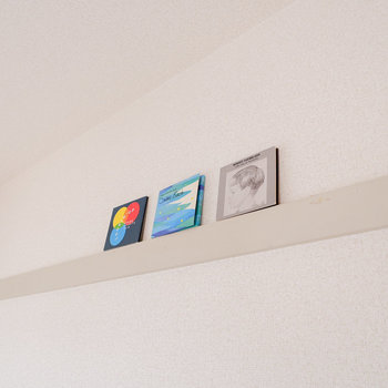 【洋室6帖】長押もあるので、こちらも彩っていきましょう。※写真は3階の同間取り別部屋のものです