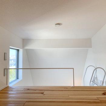【ロフト】寝室空間としても良さそうです。