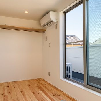 【3F】窓も大きいので、より開放できに。