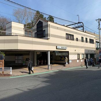 最寄りの駒場東大前駅です。