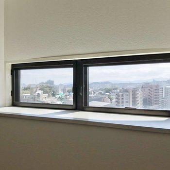 ここの窓からもいい景色。