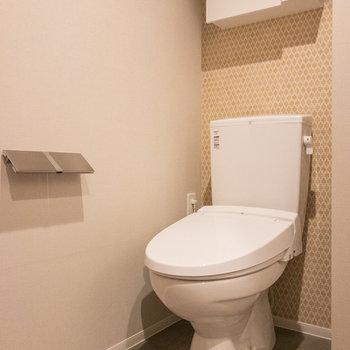 トイレは洗浄機能付きです