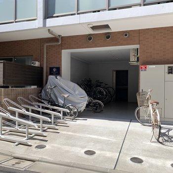 自転車置き場もあります。※空き確認