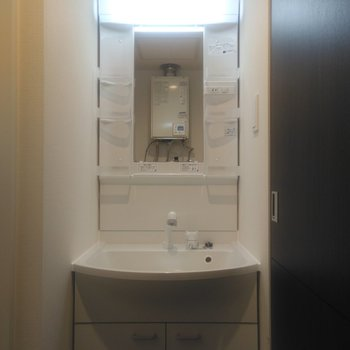 独立式の洗面台