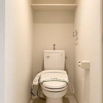 おトイレもしっかりウォシュレット付です。