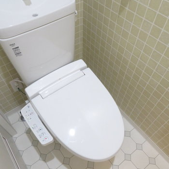 トイレも2階にあります