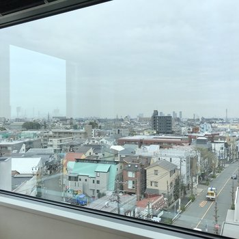 眺望は街並みと空が見渡せます。※写真は前回募集時のものです