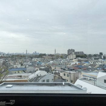 こちらの奥には駒沢公園が見えます。※写真は前回募集時のものです