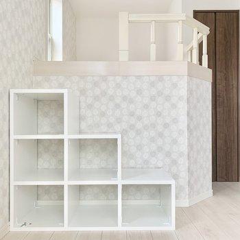 階段兼、収納ボックス!雑誌や小物をステキに飾りたい。