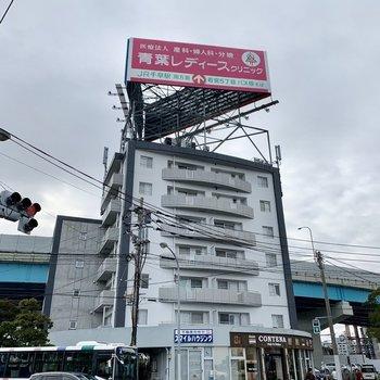香椎浜のショッピングモール目の前!