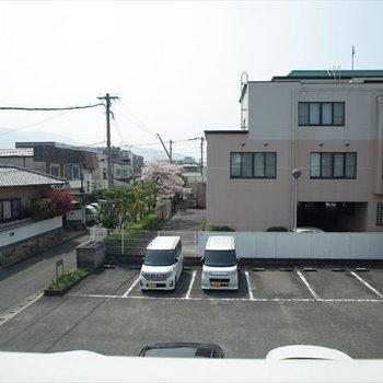 高い建物がないから、眺望も抜けててきもちいいな〜!