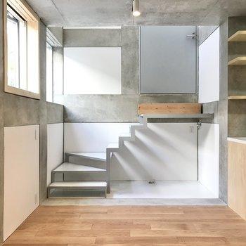 階段のワンシーン