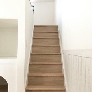 階段上がってロフト部分へ。
