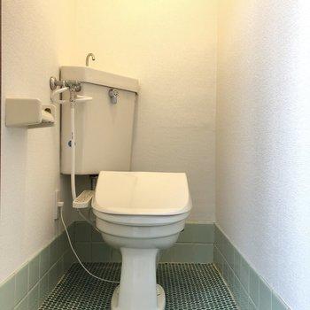 スマートなトイレですね。