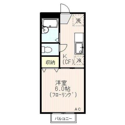 戸田公園8分アパート の間取り