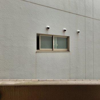 眺望は壁。