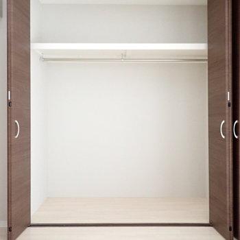 洋室4.5帖】棚はないので、ボックスなどでうまく収納しましょう!