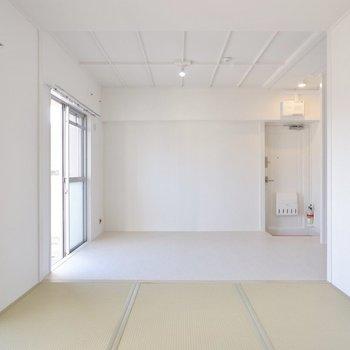 【和室2】天井も可愛いですよ。