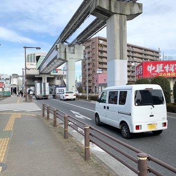 駅前にもいくつかの飲食店があります。