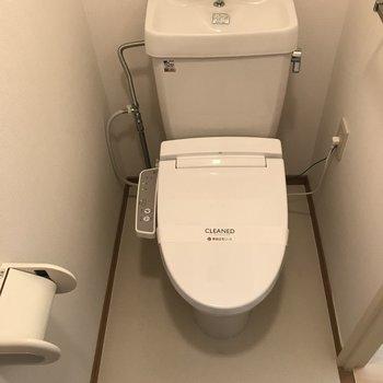 シンプルでキレイなトイレ※写真は前回募集時のものです