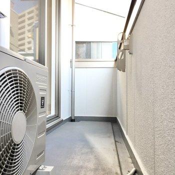 東向きなので洗濯は午前中がおすすめ。