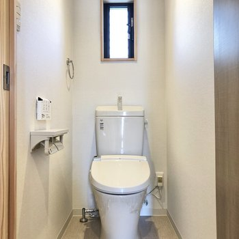 温水洗浄便座付きトイレはありがたい。