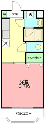 メゾン久保田Ⅲ の間取り