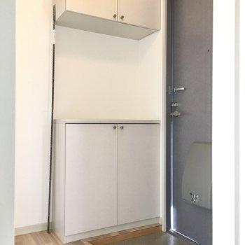 玄関は普通サイズかな?