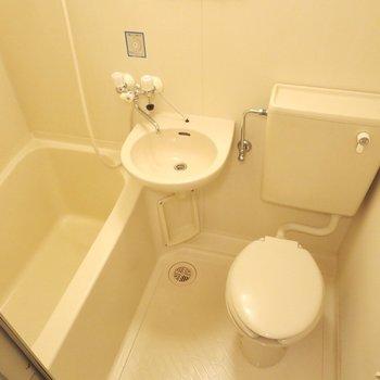 お風呂とトイレがぎゅっとまとまっています