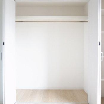 【洋室5.5帖】2種類の収納があります!クローゼットは大容量です。