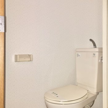 トイレと洗面台スペースは同じです。※写真は前回募集時のものです
