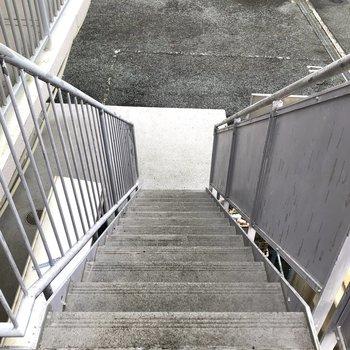 階段も綺麗に整備されています。