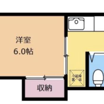 サニタリーがまとまっている分、お部屋のスペースが確保されています。