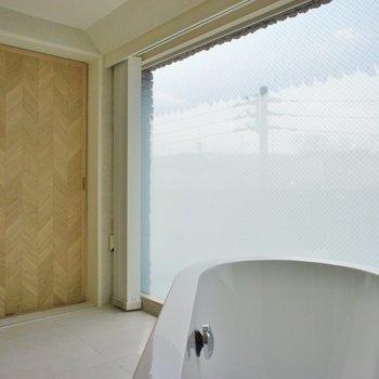 お風呂に入りながらこんな眺め※写真は前回募集時のものです