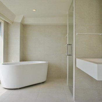 お風呂の部屋。※写真は前回募集時のものです