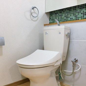 隣がおトイレのアメセパタイプ