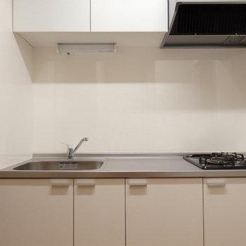2口の新品のキッチン(※写真は前回募集時のものです)