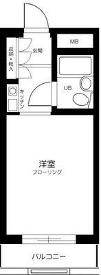 ライオンズマンション椎名町駅前通り の間取り
